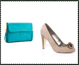 zapato y bolso diferente
