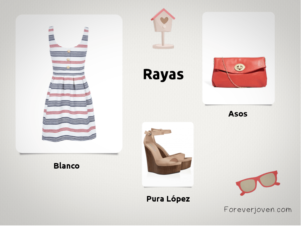 outfit rayas foreverjoven