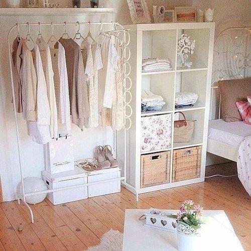 el armario ideal y ordenado