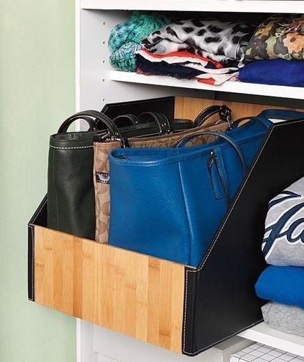 tips ordenar bolsos
