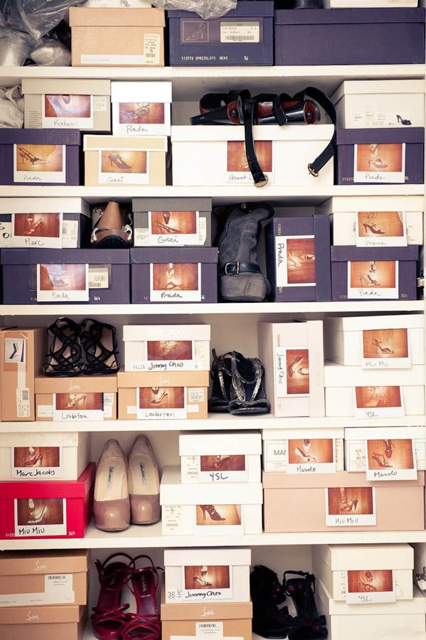 guardar zapatos