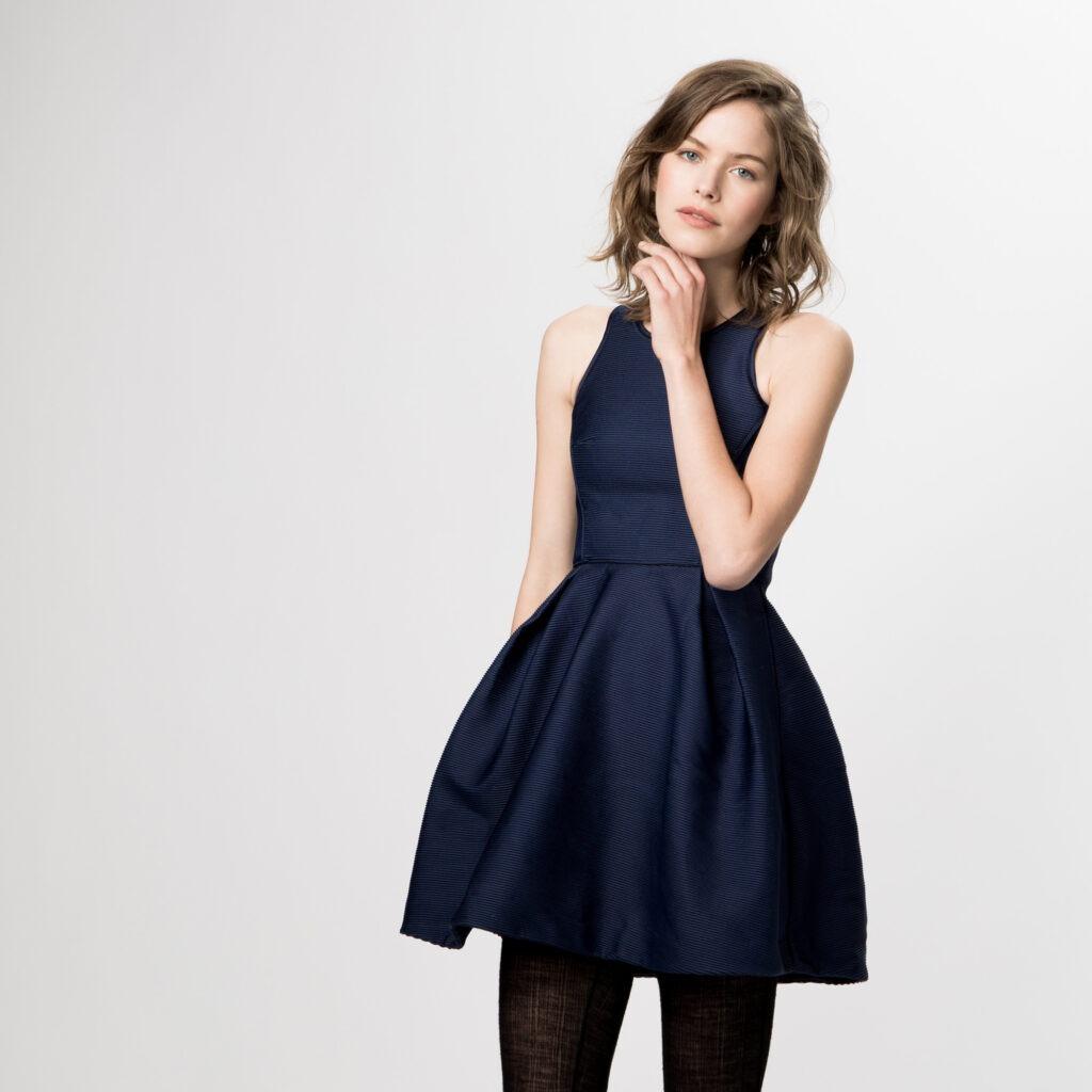 vestido azul maje
