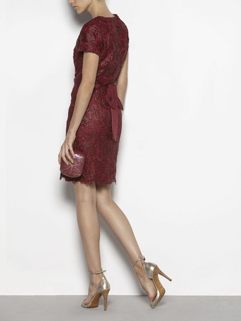 vestido rojo hoss intropia