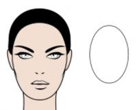 rostro ovalado