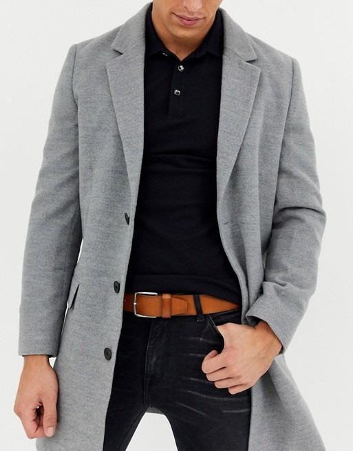 cinturon vestir marron